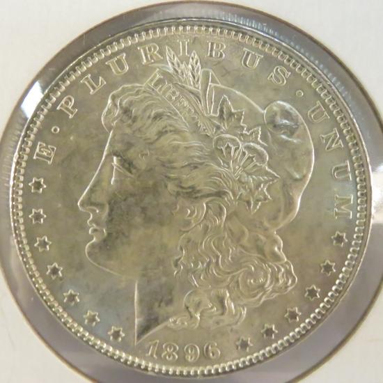 1896 Morgan Silver Dollar BU
