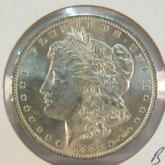 1883 O Morgan Silver Dollar BU