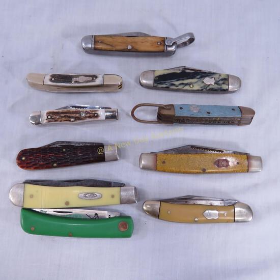 Vintage & Modern Pocket Knives- Winchester