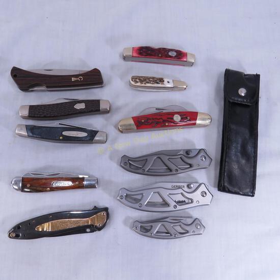 Vintage & Modern Pocket Knives- Gerber, Imperial