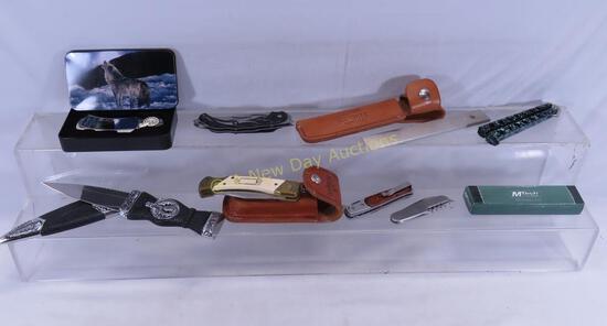 Fantasy, pocket, & fixed blade knives