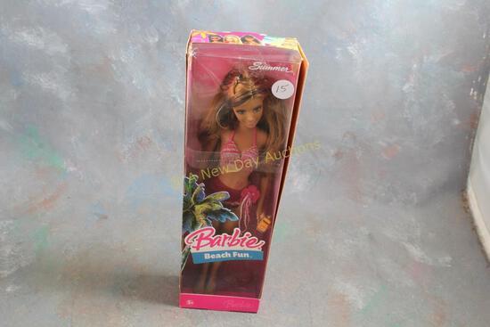 2006 Beach Fun Summer Barbie Doll in Box