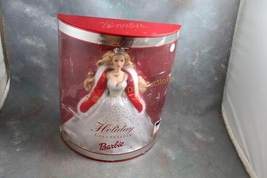 2001 Holiday Barbie Celebration Doll in Box