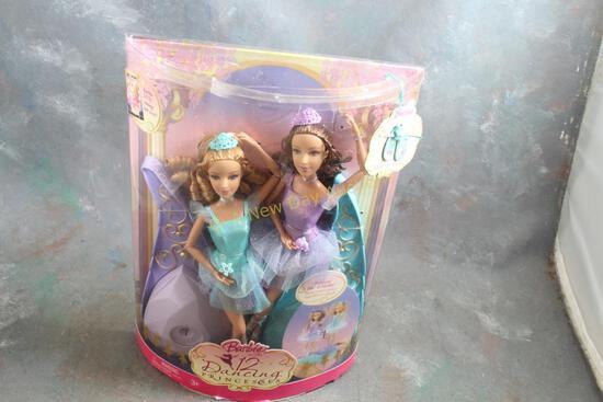 2006 Dancing Princesses Barbie Dolls in Box