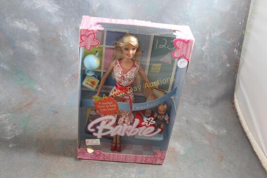 2005 Teacher Barbie Doll in Box