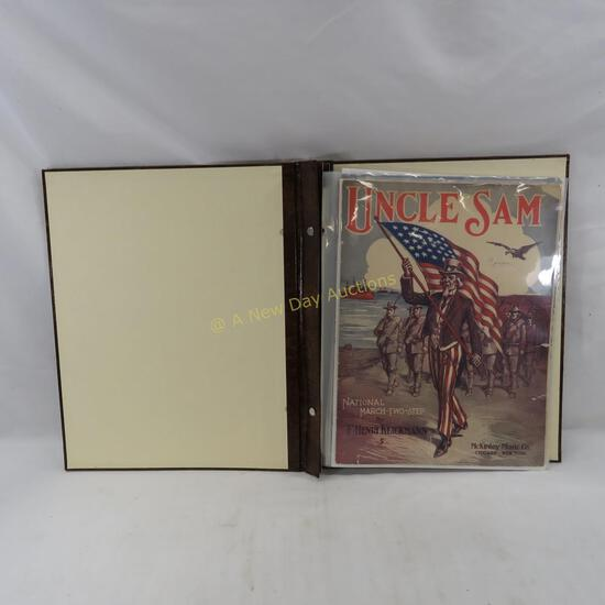 16 Military, Victory & USA pieces of sheet music