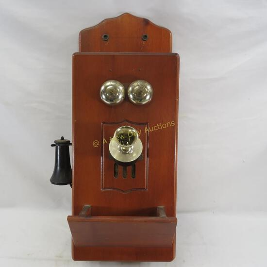 Antique style Wooden Wall Phone