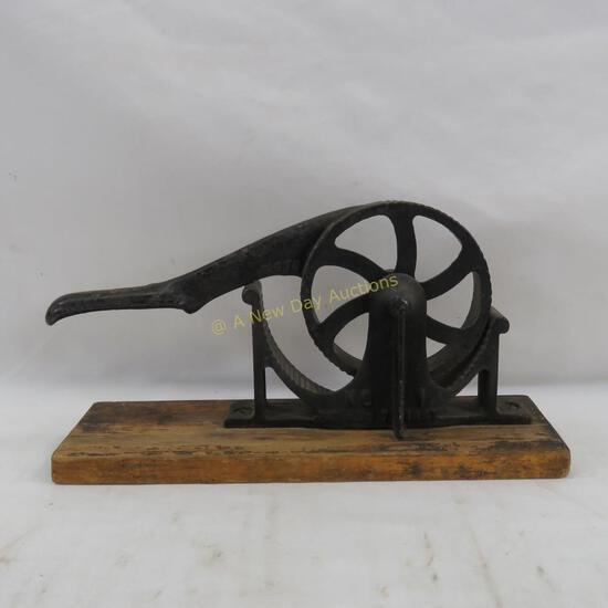 Antique Enterprise Mfg Co No. 1 Cork Press