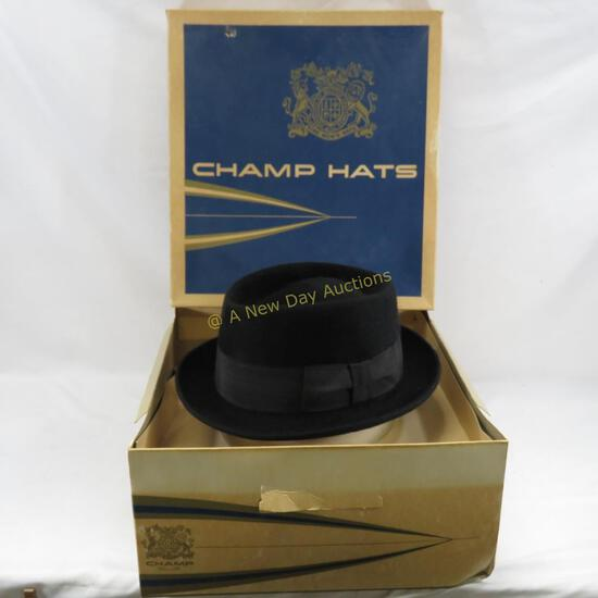 Stetson Royal Deluxe The Gun Club Hat 7 1/4