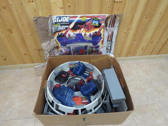 GI Joe Cobra Terror-Dome in original box