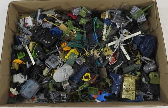 Large Group of 1980's GI Joe Weapons & Accessories