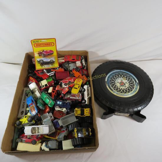 Vintage Hot wheels, Matchbox, etc with Rally Case