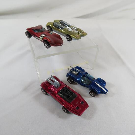 4 Hot Wheels Redlines - Splittin Image, Mantis