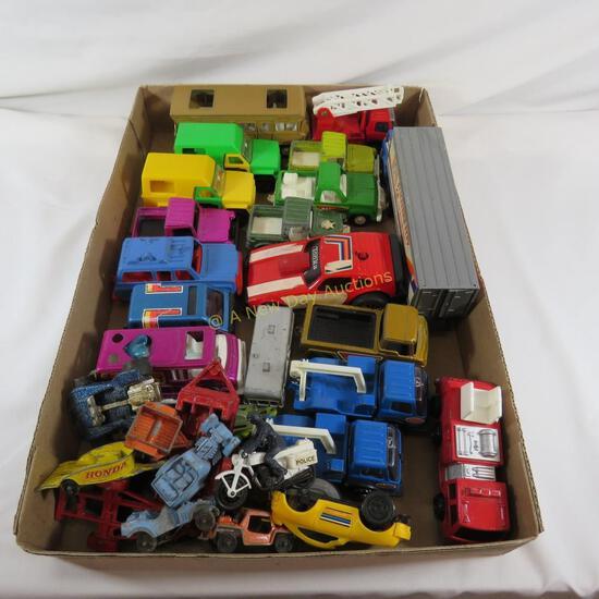 Tonka, Tootsie Toy, & other diecast cars & trucks