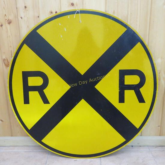 """Round Crossing Sign 36"""""""