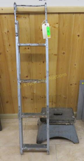 Pullman Bunk Ladder and Foot Stool