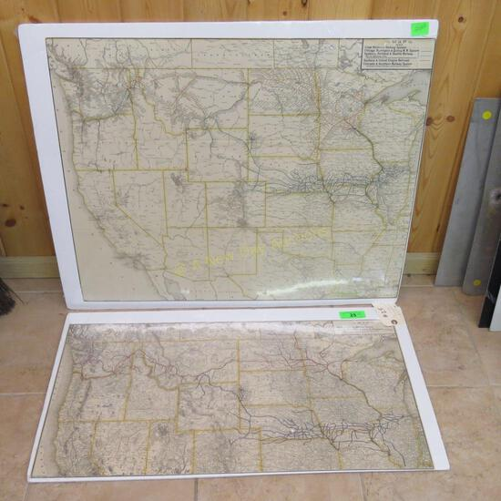1910-20's NP & GN Maps - Sealed