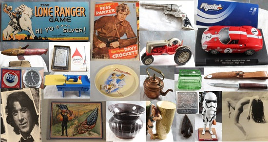 10-7 TIMED ONLINE ONLY ANTIQUES & COLLECTIBLES