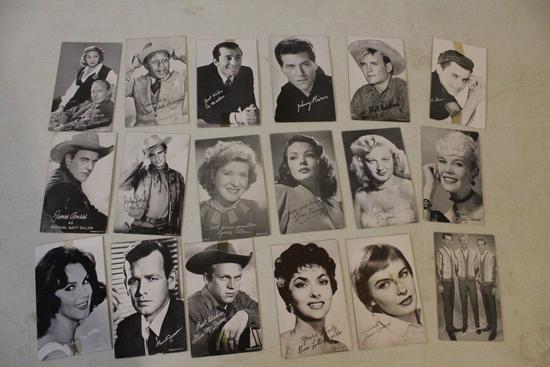 15+ Hollywood Arcade Cards Jack Benny, Joanne