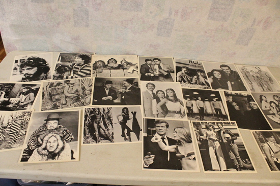20+ Hollywood Period Promo Prints  Robin Williams,