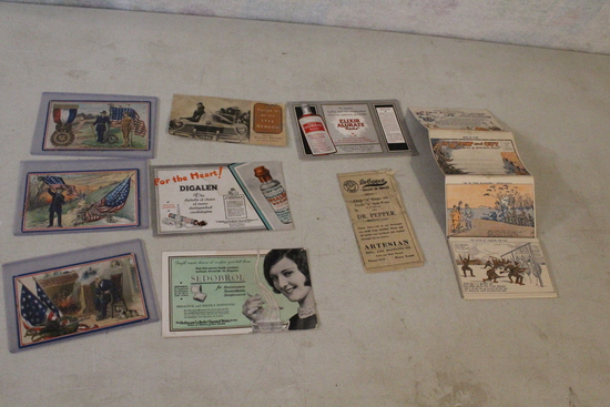 Lot Tuck's & Other Military Postcards WWII & more