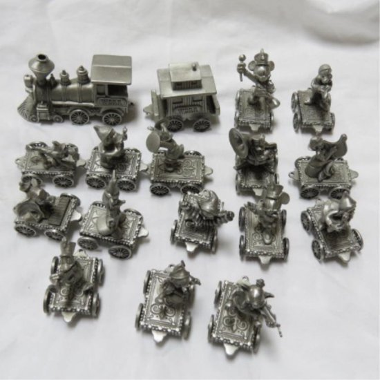 Hudson Pewter Disney Orchestra 17 Piece Train | Auctions
