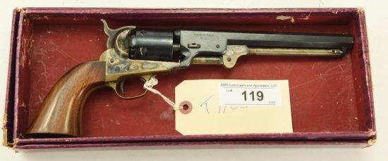 "Lot #119 -Navy ArmsMdl ""Yank"" Revolver  (Reproduction).36 PercSN# 741~~7.5"" BBL,  New & Un"