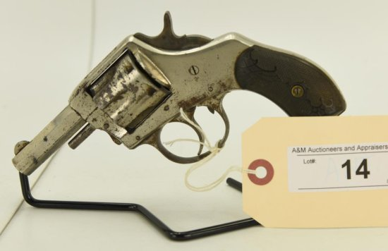 """Lot #14 -Harrington & RichardsonMdl """"The  American Double Action"""" Revolver 1st Mdl 2nd"""