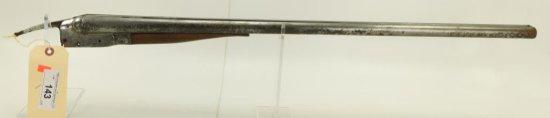 Lot #143 -IthacaMdl Lewis Mdl SBS Shotgun -  Barrel & Action Only12 GASN#  11252~~