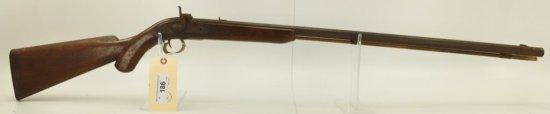 Lot #186 -Unknown MakerMd Black Powder  rifleSN# None~~