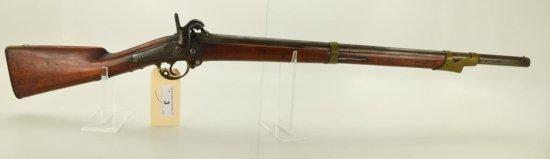 "Lot #3 - Unk. Maker (Austrian)Mdl Musket  (Has been Cut Down).69 CalSN# None~~28""  BBL,"