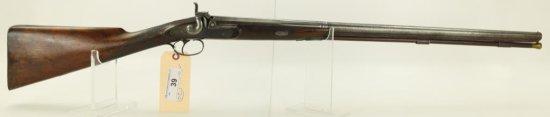 "Lot #39 -Cartwright Mdl Single BBL Perc  Shotgun20 GASN# None~~26"" BBL, 42"" OAL,  English,"