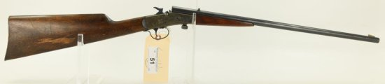 "Lot #51 - Stevens Mdl Little Scout 14-1/2  Falling Flock Rifle .22 RF SN# None~~ 20"" round BBL, 34"""