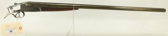 """Lot #56 -IthacaMdl Flues Mdl SxS Shotgun12  GASN# 259610~~30"""" BBL, Mfd 1914, Without  Butt"""