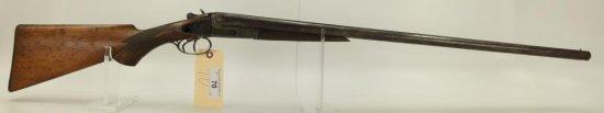 "Lot #70 -Stanley Arms CoMdl SxS Dbl BBL  Shotgun12 GASN# 3643~~30.25, 47"" OAL,  Missing 1"