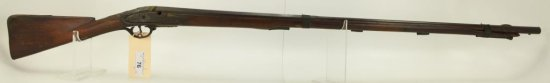 """Lot #76 -TowerMdl Percussion Musket.62 Cal  +/-SN# None~~36"""" half round half octagonal  57"""" OAL"""