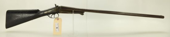 "Lot #8 - RichardsMdl SxS Breech Loading  Shotgun12 GASN# None~~30"" BBL, Under Lever  to"