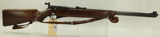 "Lot #93 -WardsMdl Westernfield Bolt Action  Rifle.22 LRSN# 04M491A~~25"" BBL, 43"" OAL,  Peep"