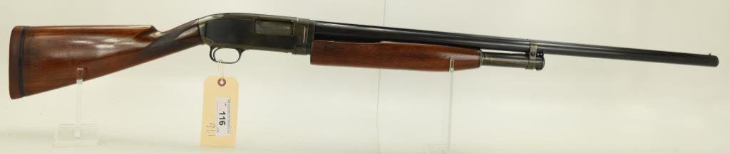 "Lot #116 -WinchesterMdl 12 Pump Action  Shotgun12 GASN# 462419~~28"" BBL. 49"" OAL. Dates to"