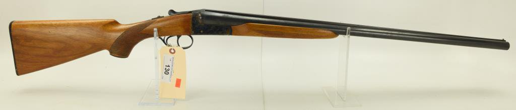 "Lot #130 -  AYA Aguirre & Arancabal  (Sears) Mdl 443 SBS Shotgun 12 GA SN#  434485~~ 27.5"" BBL."