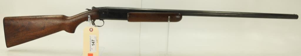 """Lot #147 -WinchesterMdl 37 Single Shot  Shotgun12 GASN# NSN-2077~~30"""" BBL. 46.25""""  OAL."""