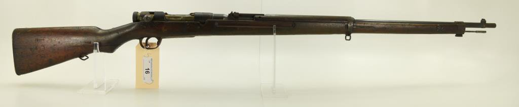 "Lot #16 -Arisaka Mdl Type 38 Bolt Action  Rifle6.5MMSN# 524454~~30"" BBL. 50.25"" OAL."