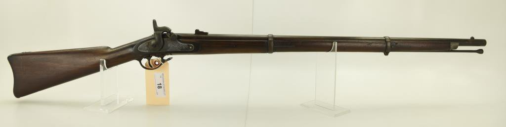 "Lot #18 -  U.S./ Mdl 1863 Type 2 Rifled Musket .58 Perc  SN# None~~ 33"" BBL, 48"" OAL,  Metal"