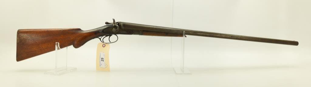 "Lot #25 -Henry Arms Co.Mdl SxS Dbl BBL  Shotgun12 GaSN# 47139~~30"" BBL, 47"" OAL,  Damascus"