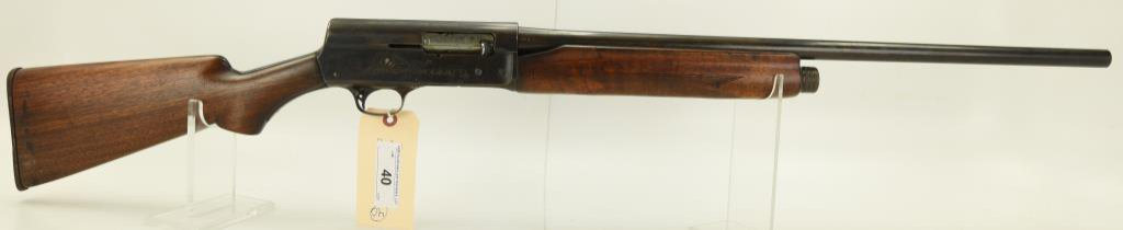"""Lot #40 -RemingtonMdl 11 Semi Auto Shotgun 16 GASN# 1515005~~24"""" round plain  BBL (Possibly cut"""
