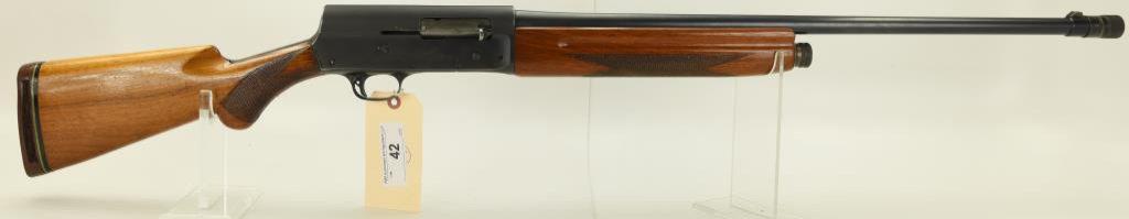 """Lot #42 -BrowningMdl Light Weight A-5 Semi  Auto Shotgun20 GASN# C13090~~26"""" BBL w/"""