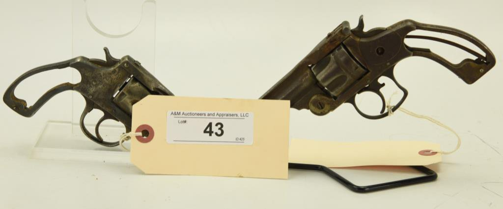 Lot #43 -  2 Antique Revolvers to Include: