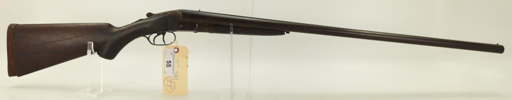 Lot #55 -Hopkins & Allen Arms Co.Mdl  Forehand SxS Shotgun Dbl BarrelBBL & Frame Only. 12 Ga