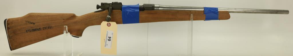 Lot #64 -US/RemingtonMdl 1903-A3 Bolt  Action Rifle.30-06SN# 3978532~~Unfinished  Sporter