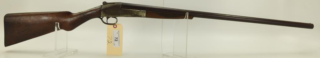 Lot #72 - American Arms Co. (Boston,  Mass) Mdl Semi-Hammerless Single Barrel  Shotgun 12 Ga